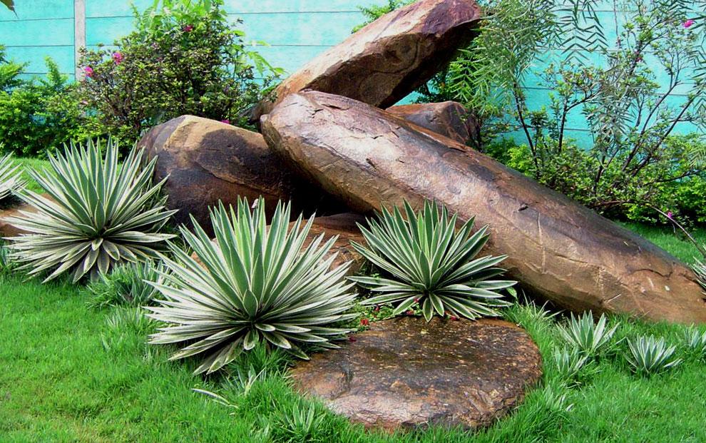Pedras para Jardim  Pedras Ornamentais