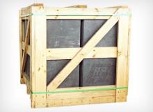Embalagem para ardósia (pallets de madeira)