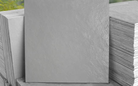 Ladrilho de ardósia cinza