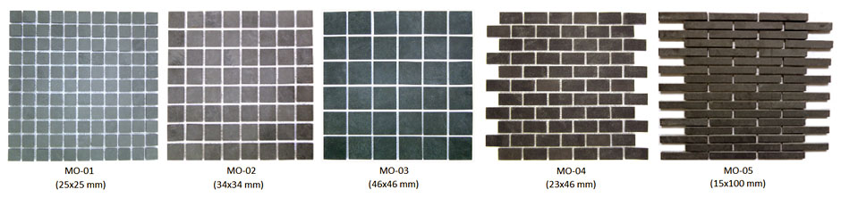 Mosaicos de ard�sia Altivo Pedras